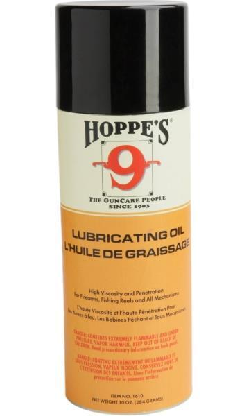 <p>Hoppe&##39;s 9 Lubricating Oil, Aerosol 10 oz.</p>